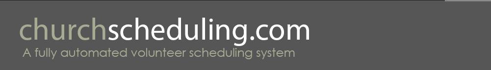 churchscheduling.com